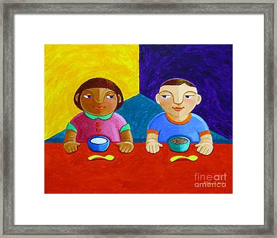 Tutong Framed Print by Paul Hilario