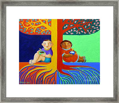 Tutong Tree Framed Print by Paul Hilario