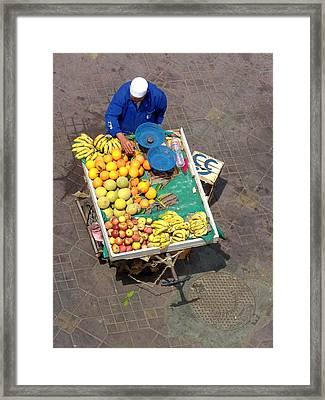 Tutti Fruiti  Framed Print by A Rey