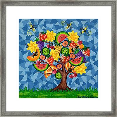 Tutti Fruitti  Framed Print by Lisa Frances Judd