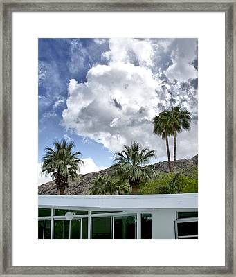Tuxedo Circle Afternoon Palm Springs Framed Print
