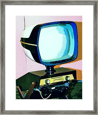 Tv Land Palm Springs Framed Print