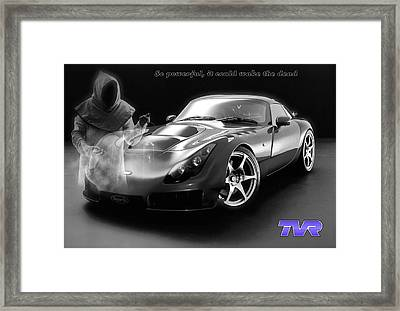 Tvr - Waking The Dead Framed Print by ISAW Gallery