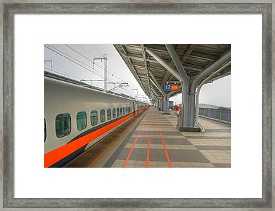 Tw Bullet Train 2 Framed Print