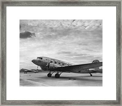 Twa Dc-3b Aircraft Framed Print