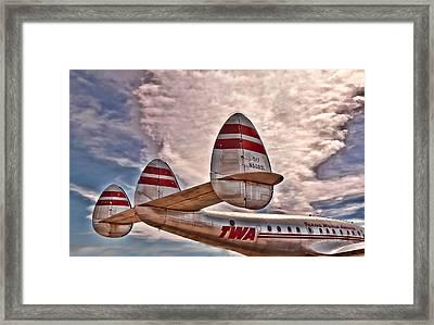 TWA Framed Print