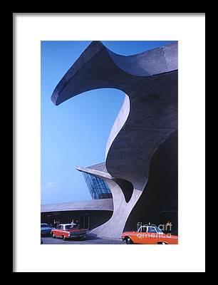 Futurism Architecture Framed Prints