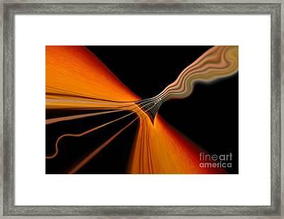 Twang Framed Print by Dan Holm