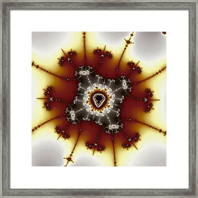 Tweaked Mandelbrot No. 2 Framed Print