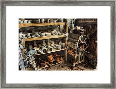 Tweaked N Antiqued Framed Print