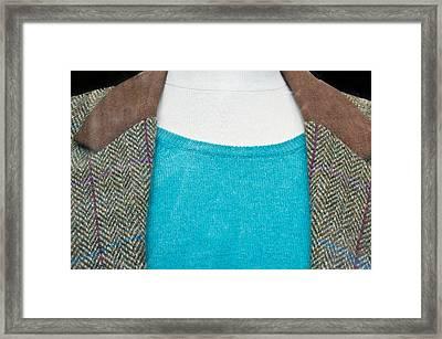 Tweed Jacket Framed Print