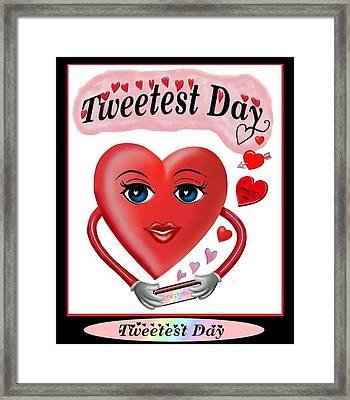 Tweetest Day Framed Print by Glenn Holbrook