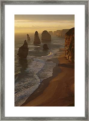 Twelve Apostles Australia Framed Print by Grant  Dixon