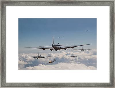 Twelve Oclock High Framed Print by Pat Speirs