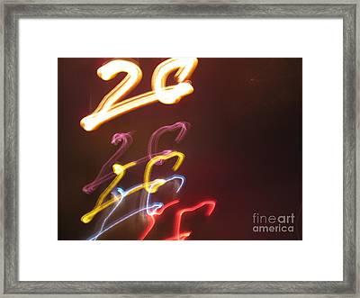 Framed Print featuring the photograph Twenty by Ausra Huntington nee Paulauskaite