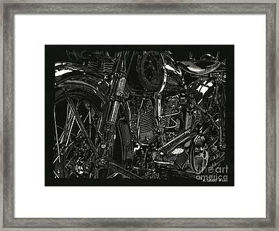 Twenty-nine Framed Print
