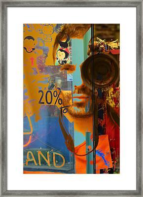 Twenty Percent Of Creativity  Framed Print by Empty Wall