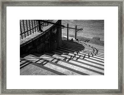 Twenty Steps Framed Print by Bob Orsillo
