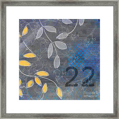Twenty-two - Flfa01 Framed Print by Variance Collections