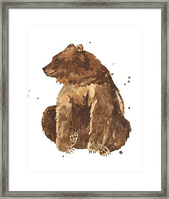 Twiddletoes Framed Print by Alison Fennell