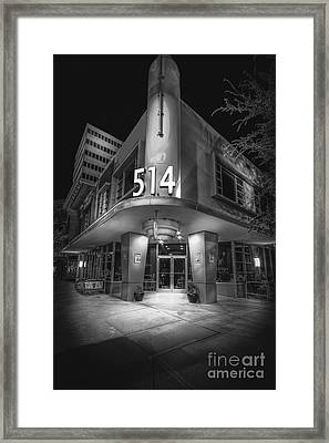 Twiggs 514 Indigo Framed Print by Marvin Spates