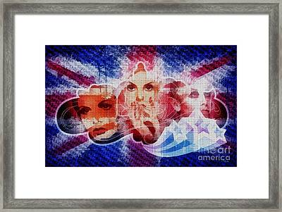 Twiggy Framed Print by Mo T