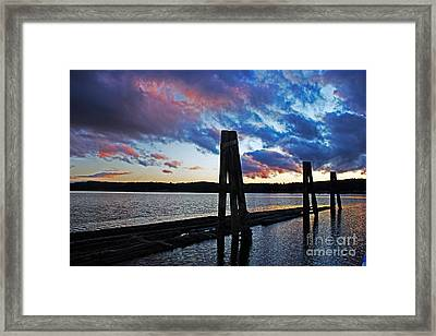 Twilight Framed Print by Alison Tomich