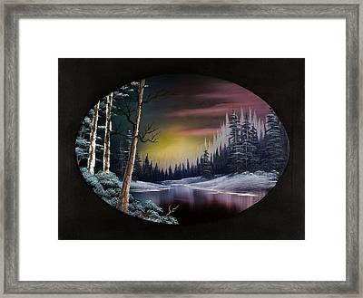 Nightfall's Approach Framed Print