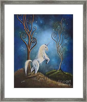 Twilight By Shawna Erback Framed Print