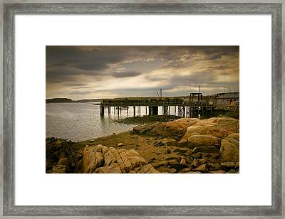 Twilight Cape Porpoise Maine Framed Print by Bob Orsillo