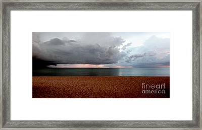 Twilight Chase Framed Print by Amar Sheow