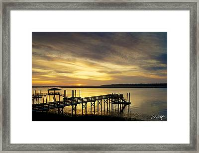 Twilight Color Framed Print by Phill Doherty