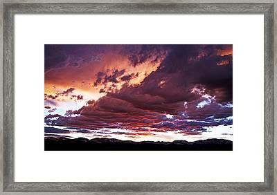 Twilight Colours Framed Print by Patrick Derickson
