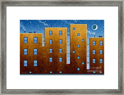 Twilight Framed Print by Cristophers Dream Artistry