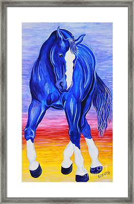 Twilight Dance Framed Print