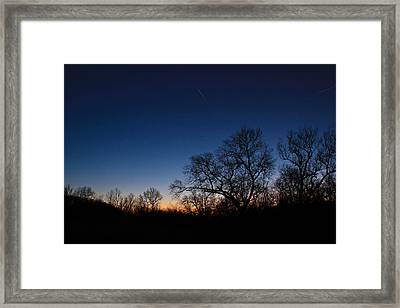 Twilight Dream Framed Print by Julie Andel