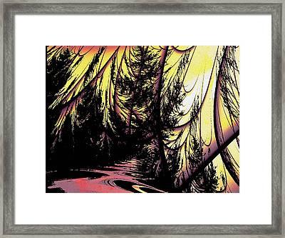 Twilight Forest Framed Print