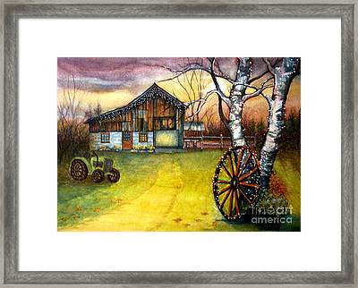 Twilight Hour Framed Print by Janine Riley