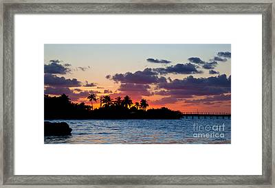 Twilight Intro Framed Print by Michelle Wiarda