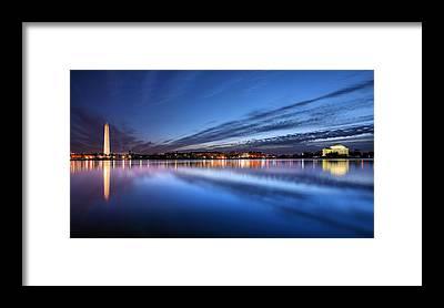 Jefferson Memorial Framed Prints