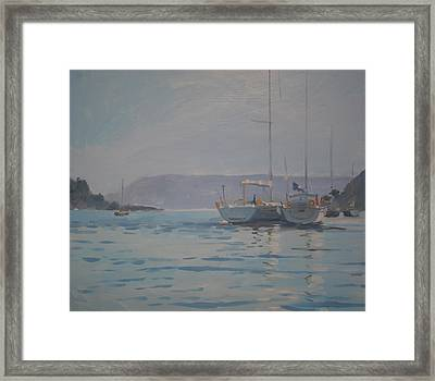 Twilight Framed Print by Jennifer Wright