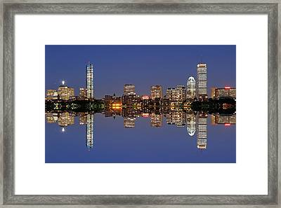Twilight Framed Print by Juergen Roth