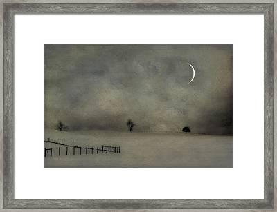 Twilight Framed Print by Kathy Jennings