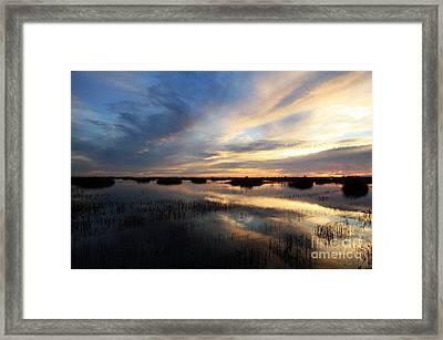Twilight Meditation Framed Print by Juan Romagosa