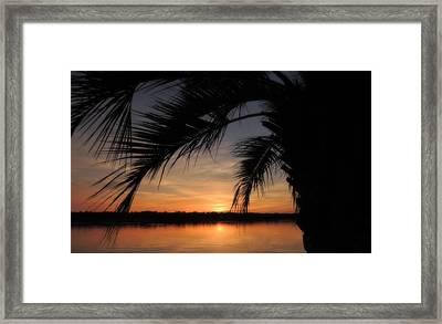 Twilight Moments Framed Print by Teresa Schomig