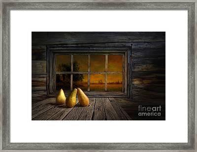 Twilight Of The Evening Framed Print