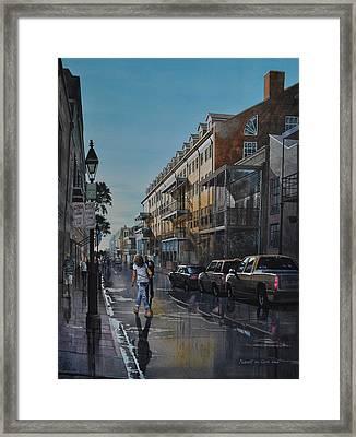 Twilight On Royal Framed Print