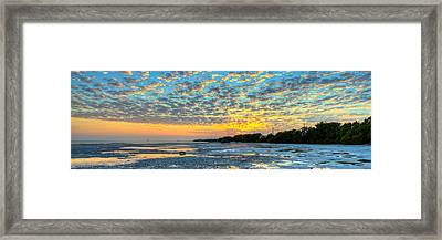 Twilight On The Keys Framed Print