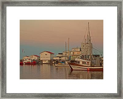 Twilight Framed Print by Randy Hall