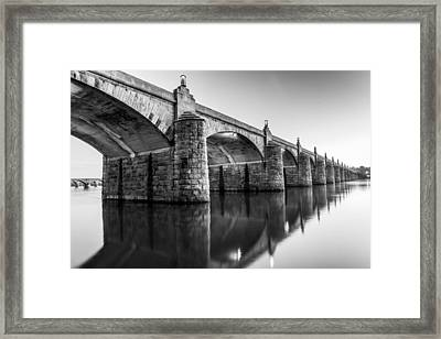Twilight Reflection Framed Print by Rory Dean